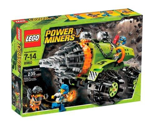 レゴ LEGO Power Miners Thunder Driller (8960)レゴ