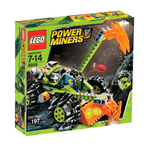 レゴ LEGO Power Miners Claw Digger (8959)レゴ