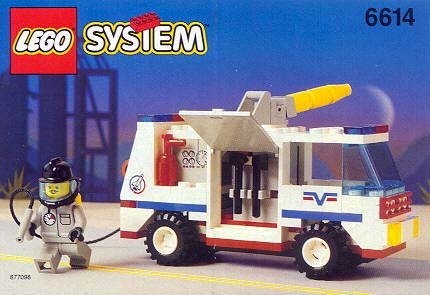 レゴ Lego System 6614 Launch Command Model 1995 119 Piece Setレゴ