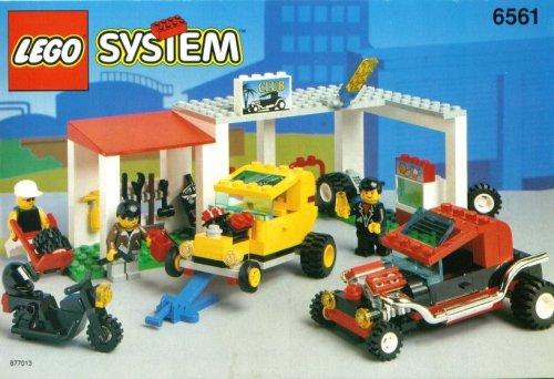 レゴ lego system hot rod club #6561レゴ