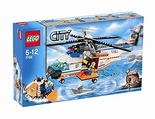 レゴ シティ LEGO City Coast Guard Helicopter & Life Raft 7738レゴ シティ