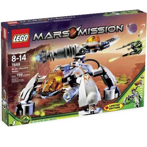 レゴ Lego Mars Mission Set #7649 MT-201 Ultra-Drill Walkerレゴ