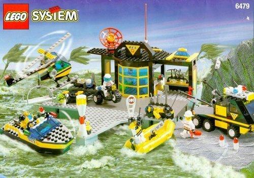 レゴ LEGO Town Res-Q 6479 Emergency Response Centerレゴ