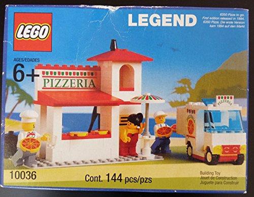 レゴ LEGO Legend 10036 Pizza To Go (Reissue of Town 6350)レゴ