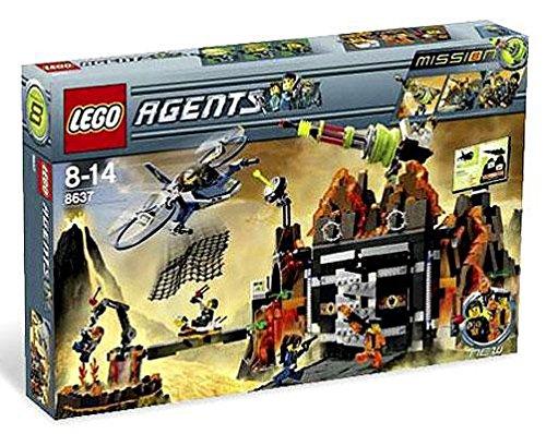 レゴ LEGO Agents Exclusive Limited Edition Set #8637 Mission 8 Volcano Baseレゴ