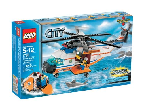 レゴ シティ LEGO City Coast Guard Helicopter and Life Raftレゴ シティ