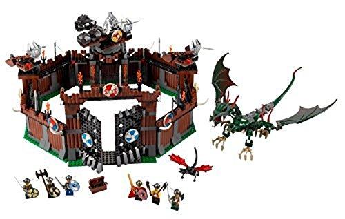 レゴ 【送料無料】LEGO Vikings Set #7019 Viking Fortress Against the Fafnir Dragonレゴ