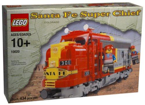 レゴ Lego 10020 Train Santa Fe Super Chiefレゴ