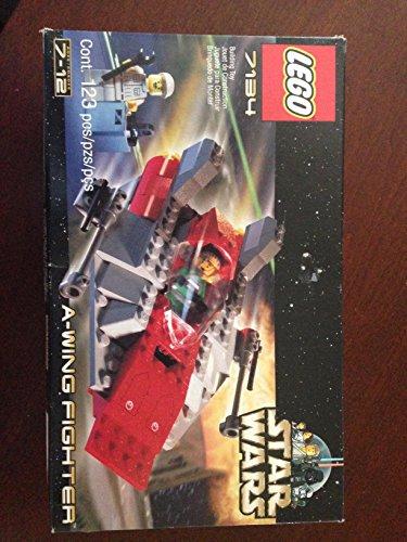 レゴ スターウォーズ 【送料無料】Star Wars Lego Kit 7134 - A-Wing Fighterレゴ スターウォーズ