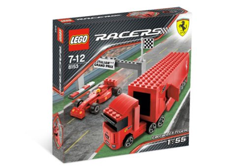 レゴ LEGO Racers Ferrari F1 Truckレゴ