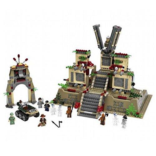 レゴ 【送料無料】LEGO Indiana Jones Temple of The Crystal Skullレゴ