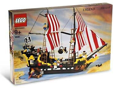 レゴ 【送料無料】Lego Pirates Black Seas Barracuda # 10040レゴ