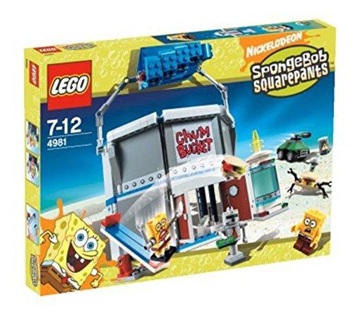 無料ラッピングでプレゼントや贈り物にも 再入荷/予約販売! 逆輸入並行輸入送料込 レゴ 送料無料 Lego SpongeBob Squarepantsレゴ Bucket 春の新作シューズ満載 Chum