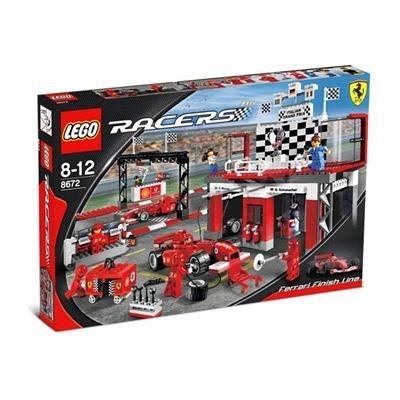 レゴ LEGO Racers 8672 Ferrari Finish Line by LEGOレゴ