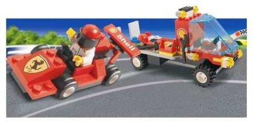 レゴ 【送料無料】LEGO System Set #1253 Shell Car Transporter with Ferrari Race Carレゴ
