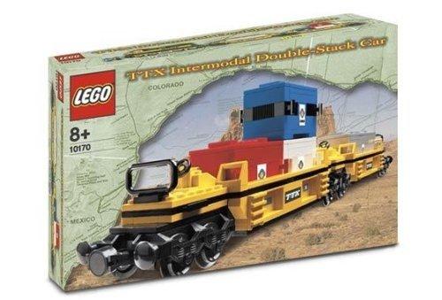レゴ LEGO TTX Intermodel Double-Stack Car Train (10170)レゴ