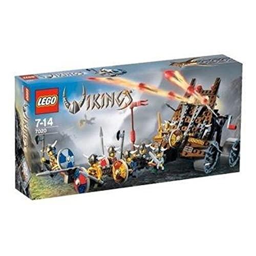 レゴ LEGO VIKINGS Army of Vikings with Heavy Artillery Wagon (7020)レゴ