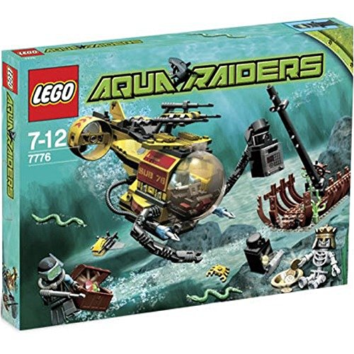 レゴ Lego Aqua Raiders Set #7776 The Shipwreckレゴ