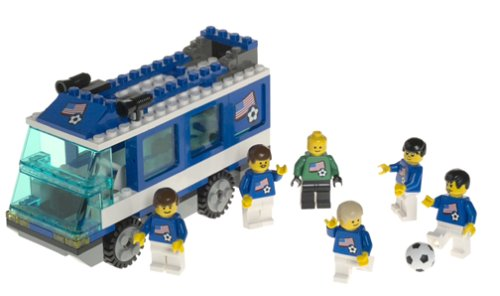 レゴ Lego 3406 Soccer Team Transport Busレゴ