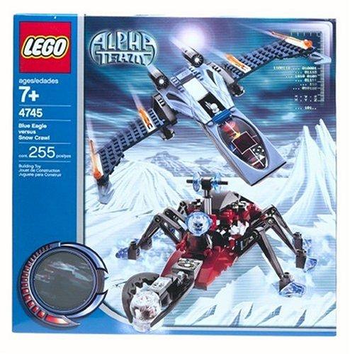 レゴ LEGO Stories & Themes Alpha Team: Blue Eagle vs. Snow Crawler (4745)レゴ