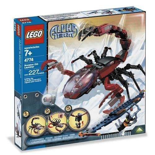 レゴ 【送料無料】LEGO Alpha Team: Scorpion Orb Launcherレゴ