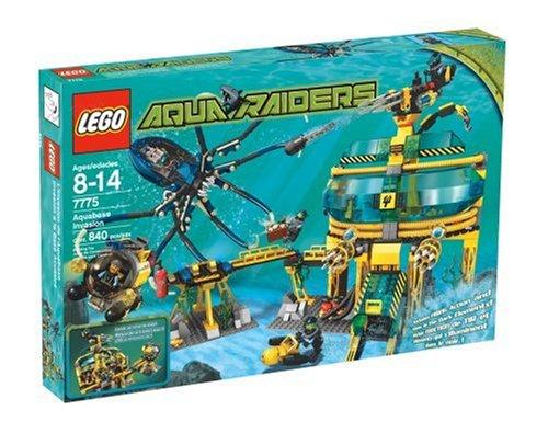 レゴ 【送料無料】Lego Aqua Raiders 7775 Aquabase Invasionレゴ
