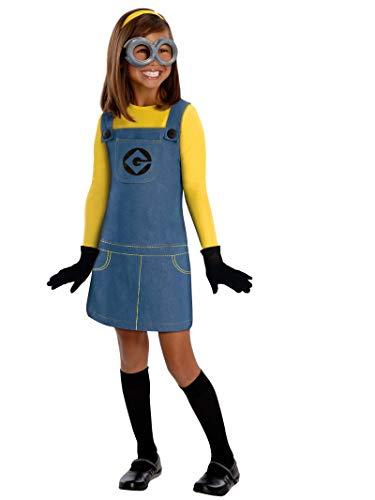 コスプレ衣装 コスチューム ミニオンズ 【送料無料】Female Minion Kids Costume - Mediumコスプレ衣装 コスチューム ミニオンズ