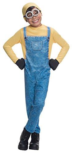 コスプレ衣装 コスチューム ミニオンズ 【送料無料】Boy's Minion Bob Outfit Funny Theme Fancy Dress Child Halloween Costume, Child M (8-10) Blue/Yellowコスプレ衣装 コスチューム ミニオンズ