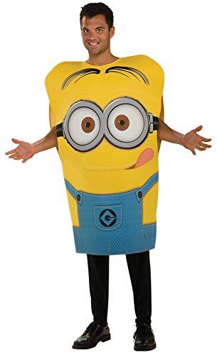 コスプレ衣装 コスチューム ミニオンズ 【送料無料】Men's Despicable Me Minion Dave Outfit Movie Theme Fancy Dress Party Costume, STD (Up to 44)コスプレ衣装 コスチューム ミニオンズ