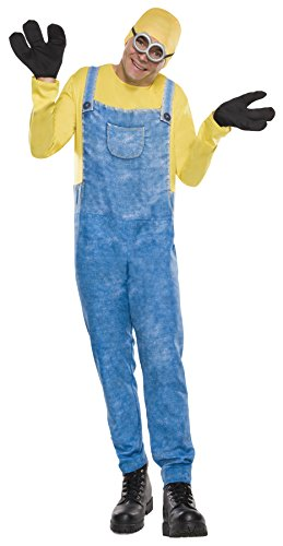 コスプレ衣装 コスチューム ミニオンズ Despicable Me Minion Bob Outfit Funny Theme Fancy Dress Party Costume, STD (44-48)コスプレ衣装 コスチューム ミニオンズ