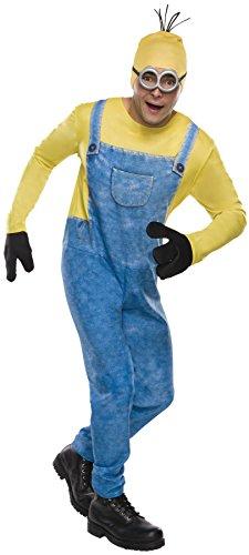 コスプレ衣装 コスチューム ミニオンズ Despicable Me Minion Kevin Outfit Funny Theme Fancy Dress Party Costume, STD (44-48)コスプレ衣装 コスチューム ミニオンズ