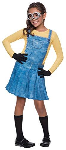 コスプレ衣装 コスチューム ミニオンズ 【送料無料】Female Minion Child Costume - Smallコスプレ衣装 コスチューム ミニオンズ