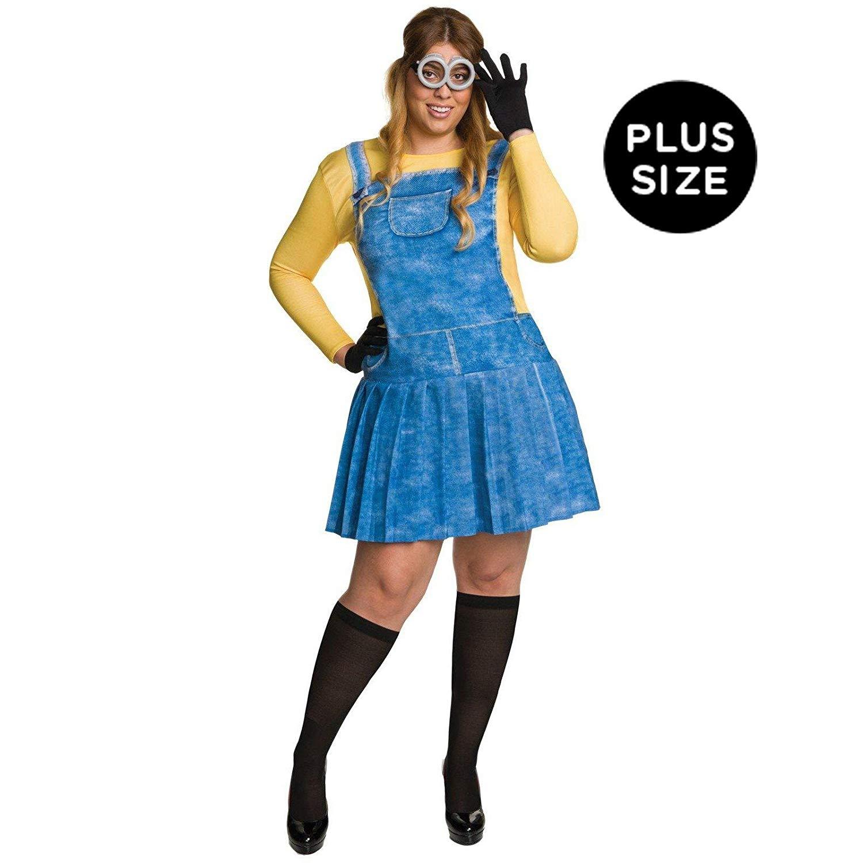コスプレ衣装 コスチューム ミニオンズ Rubie's Costume Co - Minions Movie: Female Minion Adult Costume Plus - Plus 1Xコスプレ衣装 コスチューム ミニオンズ