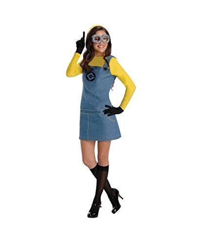 コスプレ衣装 コスチューム ミニオンズ Printed Despicable Me 2 Movie Lady Minion Adult Womens Costumeコスプレ衣装 コスチューム ミニオンズ