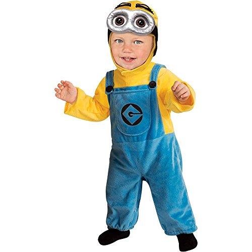 コスプレ衣装 コスチューム ミニオンズ 【送料無料】Minion Baby Costume - Infantコスプレ衣装 コスチューム ミニオンズ