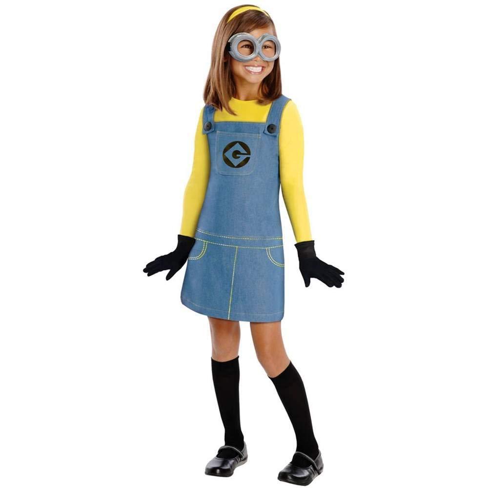 コスプレ衣装 コスチューム ミニオンズ 【送料無料】Female Minion Kids Costume - Smallコスプレ衣装 コスチューム ミニオンズ