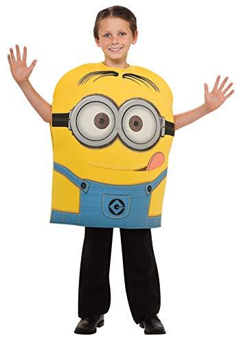 コスプレ衣装 コスチューム ミニオンズ 【送料無料】Despicable Me Child's Costume, Minion Dave Costume, Small (US Size 4-6)コスプレ衣装 コスチューム ミニオンズ