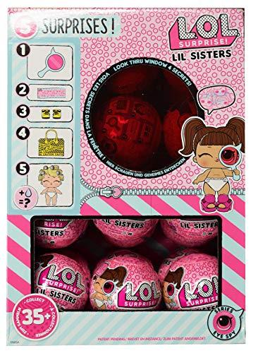 エルオーエルサプライズ 人形 ドール LOL Surprise Lil Sisters Eye Spy Series 4 Display Case 24 Pack Ballsエルオーエルサプライズ 人形 ドール