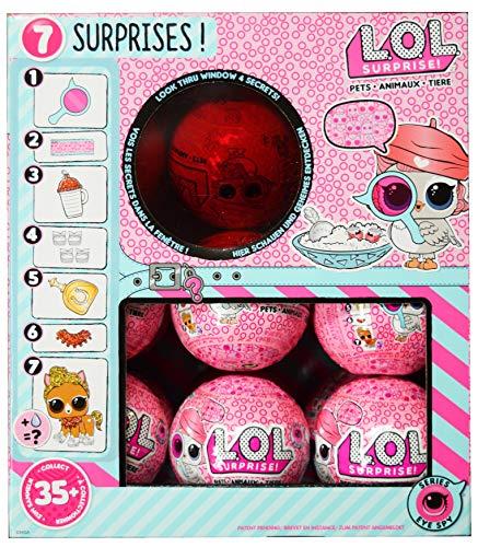 エルオーエルサプライズ 人形 ドール LOL Surprise Pets Eye Spy Series 4 Display Case 18 Pack Ballsエルオーエルサプライズ 人形 ドール