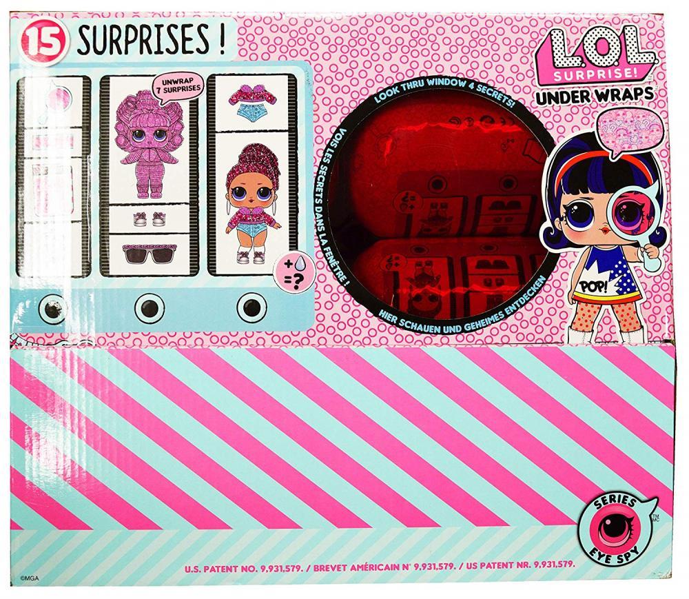 エルオーエルサプライズ 人形 ドール Dolls LOL Surprise! Innovation Series 4 Wave 1 Underwraps Full Set of 12 in Display Caseエルオーエルサプライズ 人形 ドール