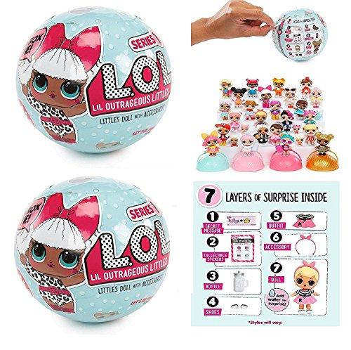 エルオーエルサプライズ 人形 ドール L.O.L. Surprise! Doll Series 1 - 2 Packエルオーエルサプライズ 人形 ドール
