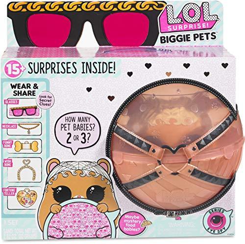 エルオーエルサプライズ 人形 ドール L.O.L. Surprise! Biggie Pet MC Hammyエルオーエルサプライズ 人形 ドール
