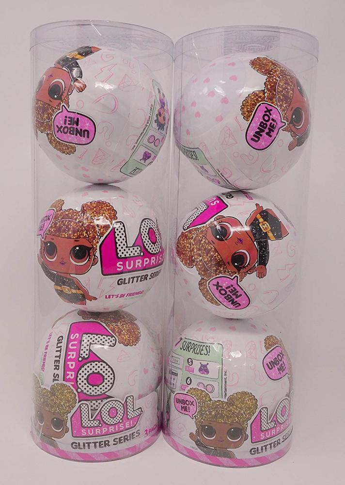 エルオーエルサプライズ 人形 ドール Set of 2 L.O.L. Surprise Limited Edition Glitter Series 3-Pack Gift Setエルオーエルサプライズ 人形 ドール