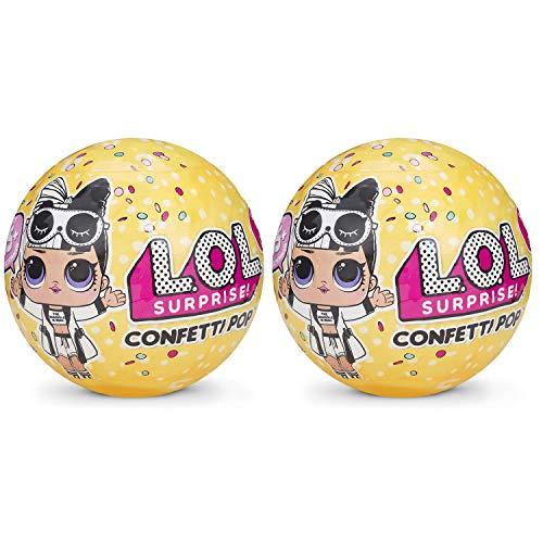 エルオーエルサプライズ 人形 ドール 【送料無料】L.O.L. Surprise Confetti Pop Series 3 Wave 2 Bundle Of 2 Dollsエルオーエルサプライズ 人形 ドール