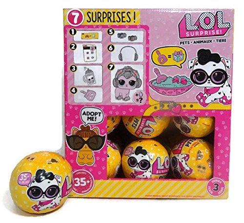 エルオーエルサプライズ 人形 ドール LOL Surprise! Full Case of 18 Pets Balls Series 3 Wave 2エルオーエルサプライズ 人形 ドール