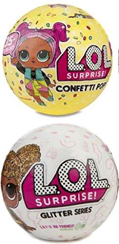 エルオーエルサプライズ 人形 ドール 【送料無料】L.O.L. Surprise! Confetti Pop-Series 3-Wave 1 Bundle Glitter Seriesエルオーエルサプライズ 人形 ドール