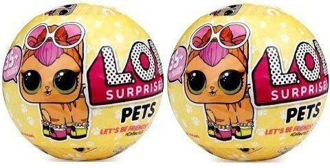 エルオーエルサプライズ 人形 ドール 【送料無料】L.O.L - Surprise Pets Series 3 X 2エルオーエルサプライズ 人形 ドール