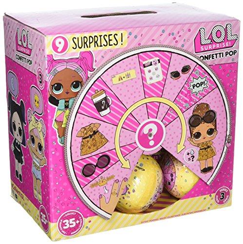 エルオーエルサプライズ 人形 ドール 【送料無料】L.O.L. Series 3 Confetti Pop - Full Case of 18 - LOL Little Outrageous Little Doll AUTHENTICエルオーエルサプライズ 人形 ドール