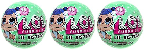 エルオーエルサプライズ 人形 ドール LOL Surprise Lil Outrageous Littles Lil Sisters Series 2 Lets Be Friends Mystery Pack Wave 2 - Pack of 3エルオーエルサプライズ 人形 ドール