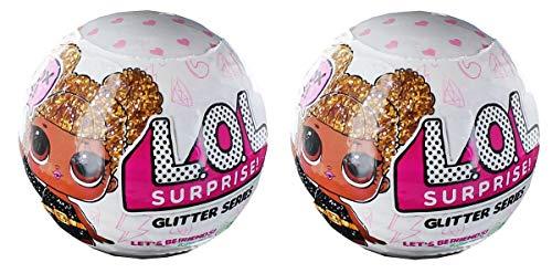 エルオーエルサプライズ 人形 ドール 【送料無料】LOL Surprise! Glitter Series Doll Lot of 2エルオーエルサプライズ 人形 ドール